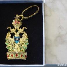 Militaria: MEDALLA MILITAR. REPRODUCCIÓN. AUSTRIA. ORDEN IMPERIAL DE LA CORONA DE HIERRO. CON CAJA. Lote 268599919
