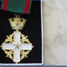 Militaria: MEDALLA MILITAR. REPRODUCCIÓN. ITALIA ORDEN AL MÉRITO DE LA REPÚBLICA ITALIANA. CON CAJA. Lote 268600924