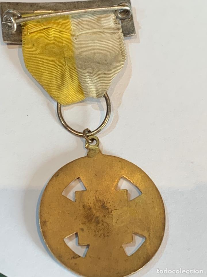 Militaria: Medalla del IV congreso Eucarístico Diocesano -Arciprestazco de Elche 1948 - Foto 5 - 268620809