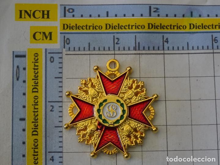 Militaria: MEDALLA MILITAR. REPRODUCCIÓN. POLONIA - LITUANIA. ORDEN CABALLERÍA DE SAN ESTANISLAO. CON CAJA - Foto 3 - 268621094