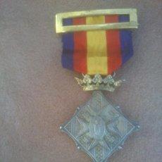 Militaria: ORIGINAL MEDALLA SITIO DE GIRONA,PRIMER CENTENARIO 1909.. Lote 268755524