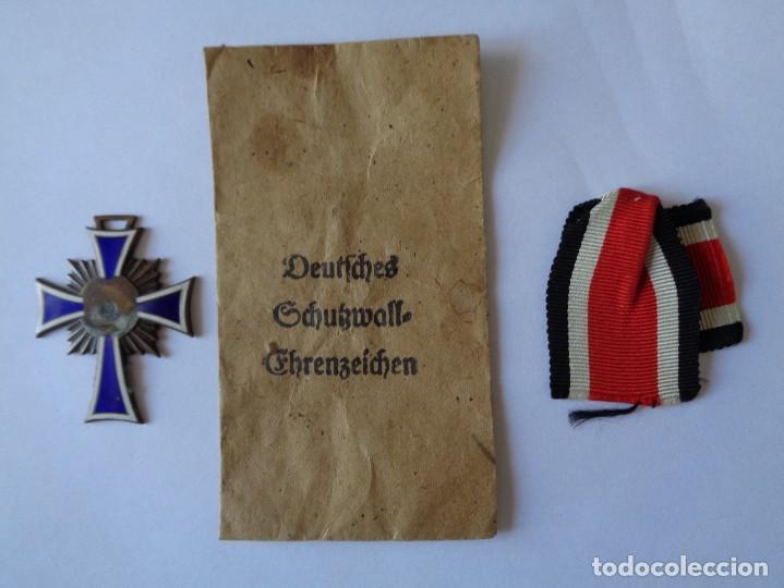 3 ARTICULOS DE LA II GUERRA MUNDIAL ORIGINALES ALEMAN (Militar - Medallas Internacionales Originales)