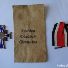 Militaria: 3 ARTICULOS DE LA II GUERRA MUNDIAL ORIGINALES ALEMAN. Lote 268800719