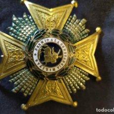 Militaria: PLACA REAL Y MILITAR ORDEN DE SAN HERMENEGILDO. Lote 268844209