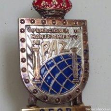 Militaria: MEDALLA MILITAR PIN OPERACIONES DE MANTENIMIENTO DE PAZ SFOR ANTIGUA YUGOSLAVIA. Lote 268953704