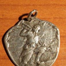 Militaria: 1914 L´HONNEUR DU 20º COPS ET DES VAILLANS 1915 DEFENSEUR DE LA LORRAINE.MEDALLA EN PLATA. Lote 269001494