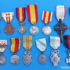 Militaria: MEDALLAS DE LOS CENTENARIOS. SERIE DE 13.. Lote 269093883