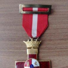 Militaria: MEDALLA AL MERITO MILITAR CON DISTINTIVO ROJO ( FRANCO ) PASADOR - CINTA - MEDALLA ORIGINALES. Lote 269114388