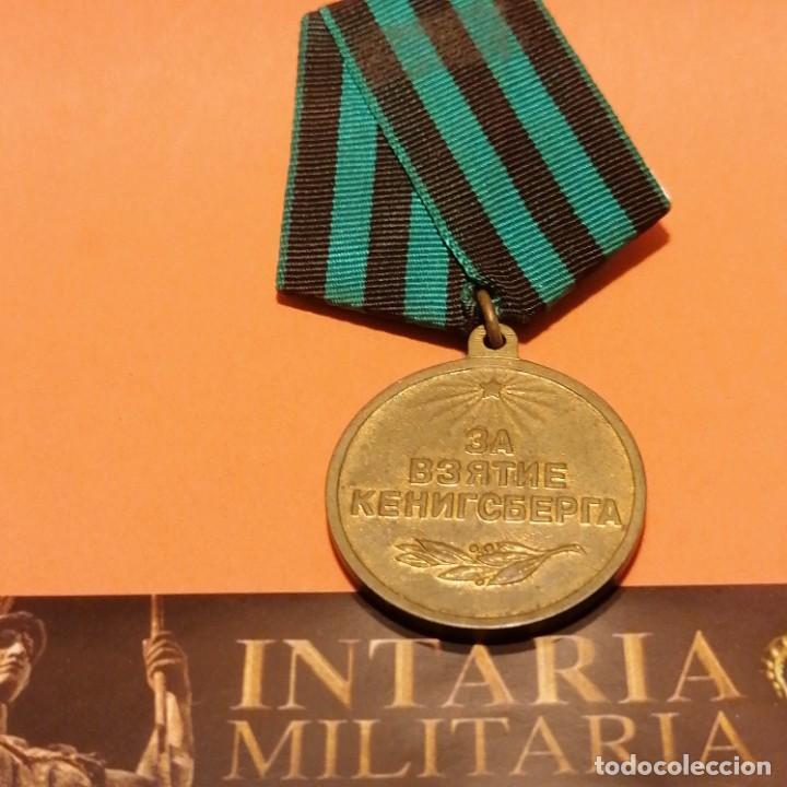MEDALLA SOVIÉTICA DE ASALTO A KOENIGSBERG 1945 (Militar - Medallas Internacionales Originales)