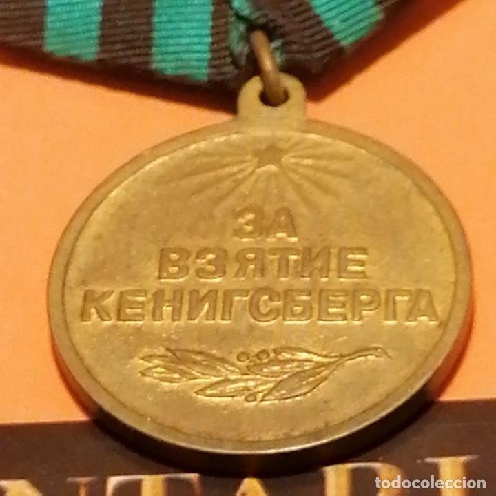 Militaria: Medalla soviética de asalto a Koenigsberg 1945 - Foto 2 - 269317733