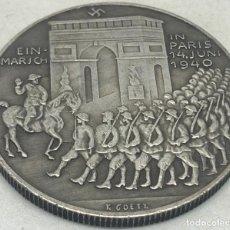 Militaria: RÉPLICA MEDALLA EJÉRCITO ALEMÁN EN PARÍS, ARCO DEL TRIUNFO. 14-VI-1940. II GUERRA MUNDIAL, ALEMANIA.. Lote 269441238