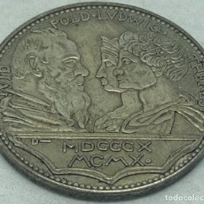 Militaria: RÉPLICA MEDALLA 1910, CERVEZA OKTOBERFEST MUNICH, BAVIERA, ALEMANIA. 100 ANIVERSARIO, 1810. Lote 269441413