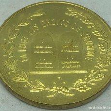 Militaria: RÉPLICA JETÓN FRANCMASONERÍA. (1799-1800). LOGIA DERECHOS DEL HOMBRE, FRANCIA. RARA. Lote 269441773