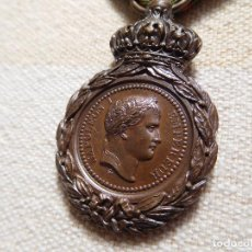 Militaria: FRANCIA. MEDALLA DE SANTA HELENA 1821 NAPOLEON. Lote 269730478