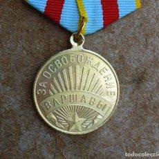 Militaria: MEDALLA POR LA LIBERACIÓN DE VARSOVIA. Lote 269742323