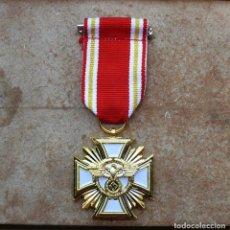 Militaria: MEDALLA DE SERVICIO PROLONGADO NSDAP (ORO) 3 REICH. Lote 269744678