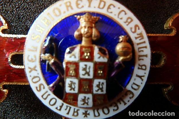 Militaria: (JX-210637)Gran Cruz y Placa de la Orden Civil de Alfonso X El Sabio . - Foto 9 - 269935228