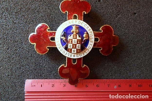 Militaria: (JX-210637)Gran Cruz y Placa de la Orden Civil de Alfonso X El Sabio . - Foto 12 - 269935228
