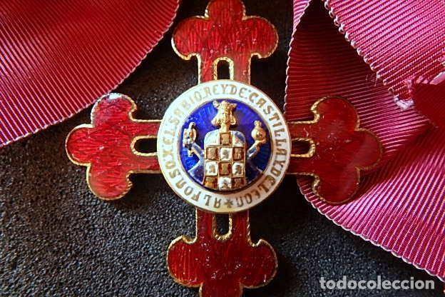 Militaria: (JX-210637)Gran Cruz y Placa de la Orden Civil de Alfonso X El Sabio . - Foto 14 - 269935228