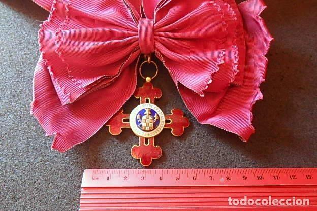 Militaria: (JX-210637)Gran Cruz y Placa de la Orden Civil de Alfonso X El Sabio . - Foto 17 - 269935228