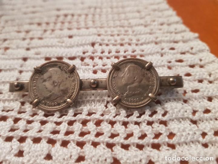 BROCHE PATRIÓTICO PLATA (Militar - Medallas Españolas Originales )