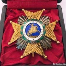 Militaria: PLACA MILITAR CRUZ ORDEN DE SAN HERMENEGILDO EPOCA ALFONSO XIII PREMIO A LA CONSTANCIA MILITAR. Lote 269996883