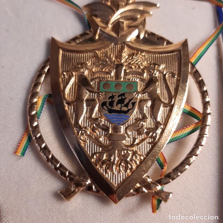 Militaria: Venera de una orden africana en plata dorada - Foto 3 - 273626138
