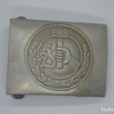Militaria: WWII THE GERMAN BUCKLE NSBO. Lote 209968945