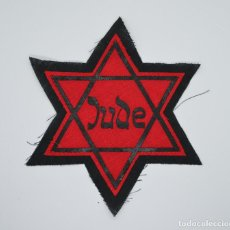 Militaria: WWII JEWISH STAR JUDE WITH GHETTO, CONCENTRATION CAMP. Lote 274704623