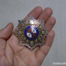 Militaria: ANTIGUA MEDALLA PLACA AL MERITO EN CAMPAÑA DE GUERRA CIVIL, MODELO DE AÑOS 60/70, ORIGINAL.. Lote 274816948