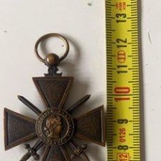 Militaria: MEDALLA ANTIGUA DE LA REPUBLICA FRANCESA 1914-1917. Lote 274935053