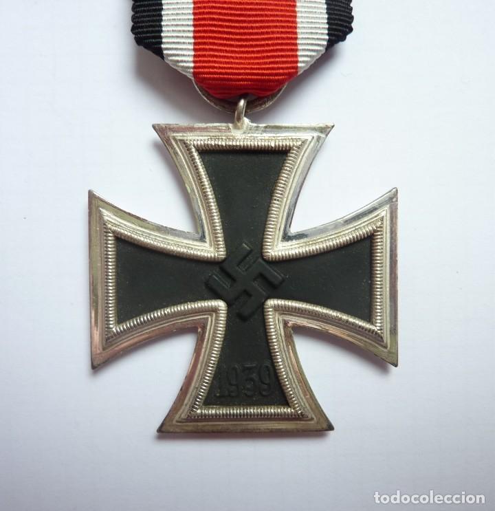 ALEMANIA: CRUZ DE HIERRO, DE SEGUNDA CLASE 1939 - ANILLA MARCADA: 3 DEUMER. (Militar - Medallas Internacionales Originales)