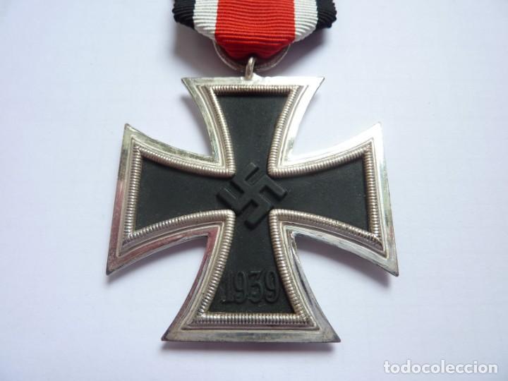 Militaria: Alemania: Cruz de Hierro, de segunda clase 1939 - anilla marcada: 3 Deumer. - Foto 2 - 275333193