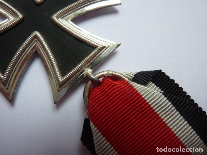 Militaria: Alemania: Cruz de Hierro, de segunda clase 1939 - anilla marcada: 3 Deumer. - Foto 3 - 275333193