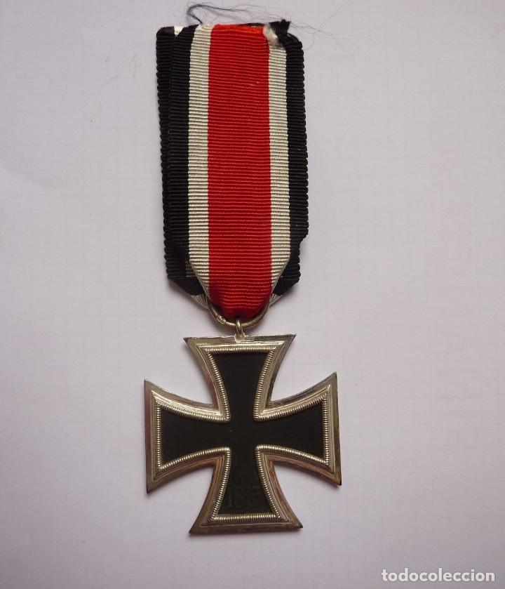 Militaria: Alemania: Cruz de Hierro, de segunda clase 1939 - anilla marcada: 3 Deumer. - Foto 4 - 275333193