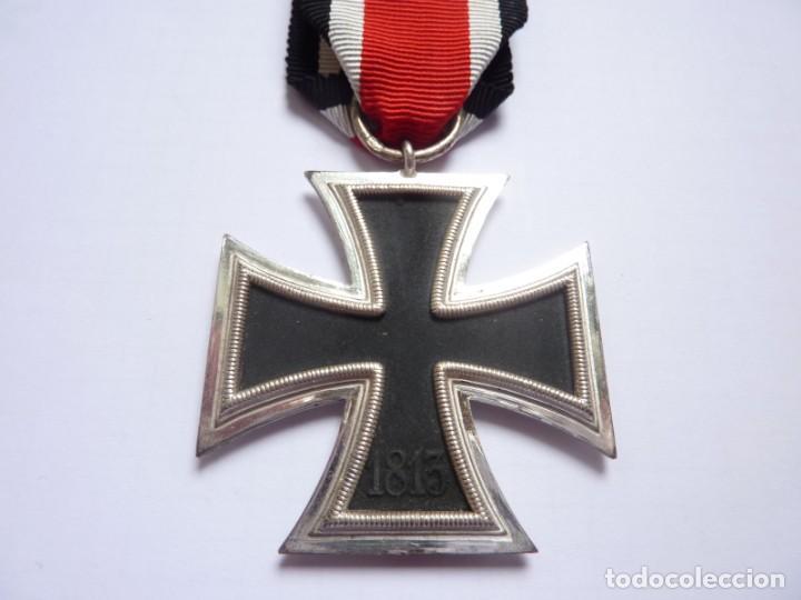 Militaria: Alemania: Cruz de Hierro, de segunda clase 1939 - anilla marcada: 3 Deumer. - Foto 5 - 275333193