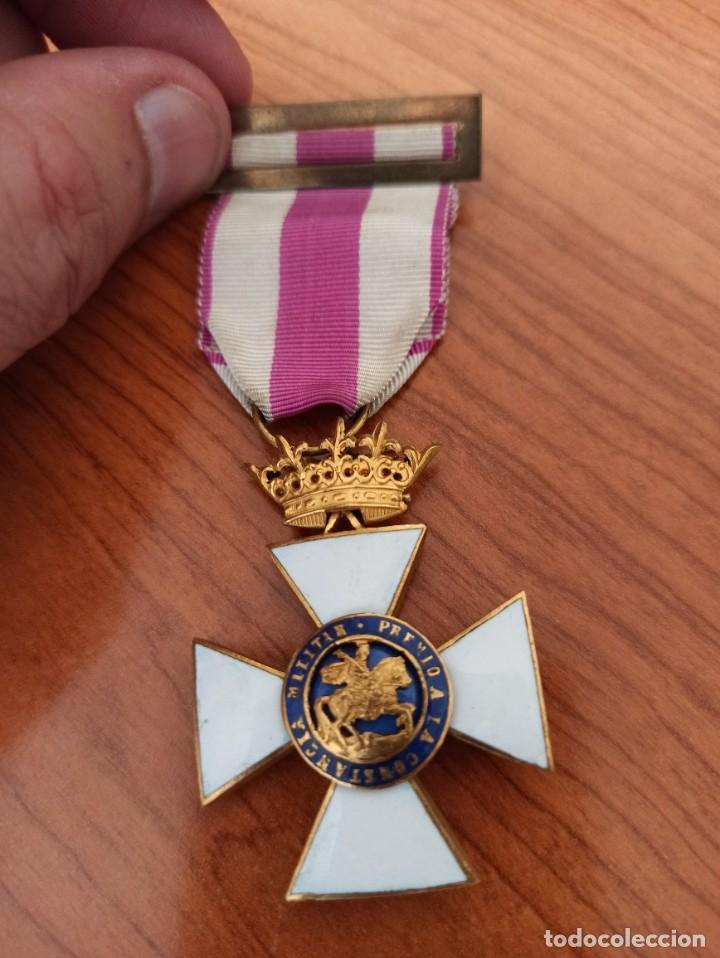 IMPECABLE MEDALLA DE LA ORDEN DE SAN HERMENEGILDO. ÉPOCA FRANCO. (Militar - Medallas Españolas Originales )