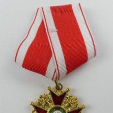 Militaria: REPLICA MEDALLA POSIBLEMENTE ORDEN DE SAN GREGORIO. Lote 275893578