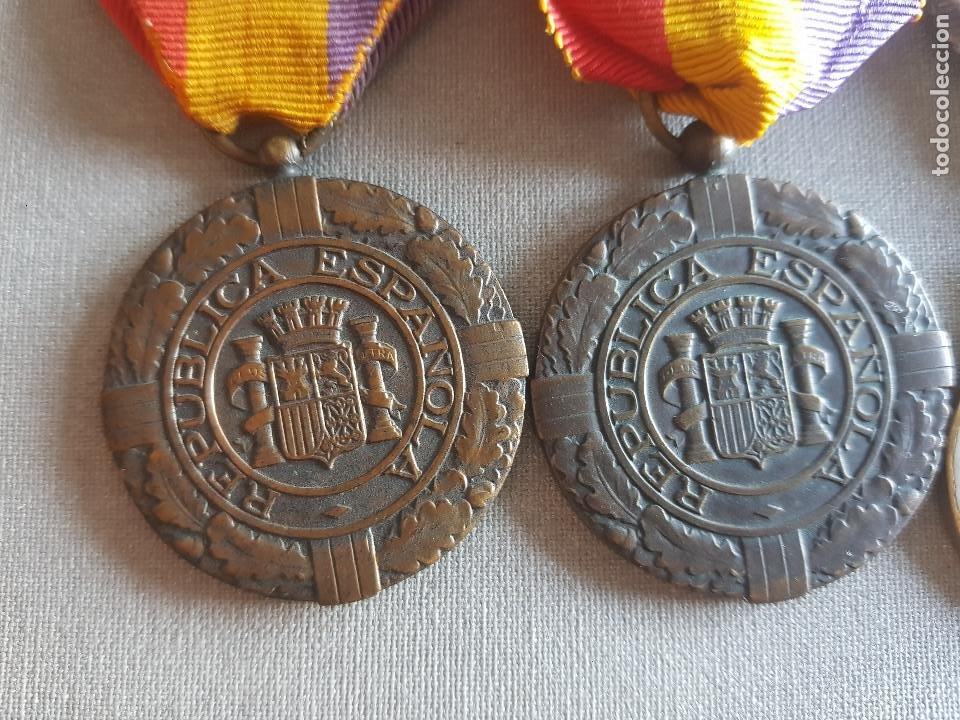 Militaria: ANTIGUO PASADOR REPUBLICANO PATRIA LIBERTAD REPUBLICA - Foto 2 - 276130048