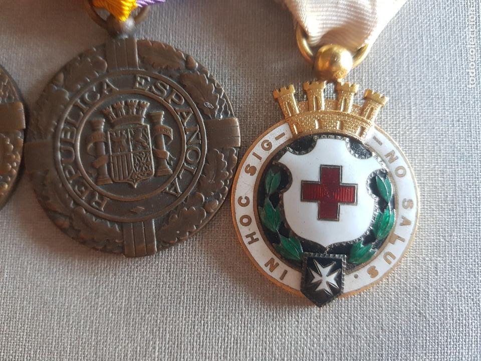 Militaria: ANTIGUO PASADOR REPUBLICANO PATRIA LIBERTAD REPUBLICA - Foto 3 - 276130048