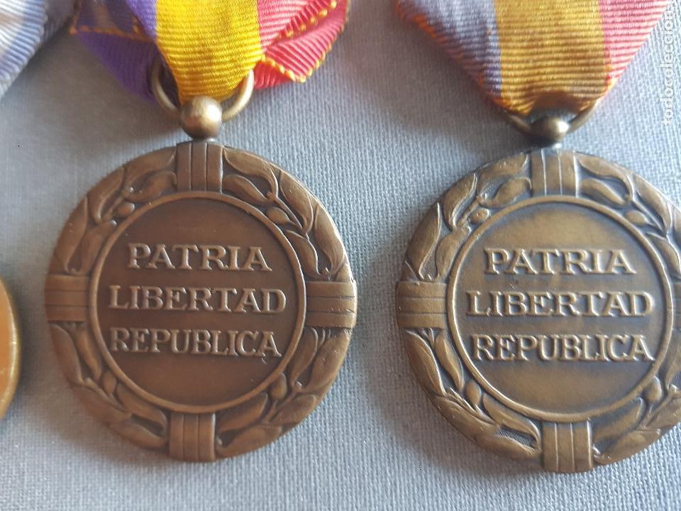 Militaria: ANTIGUO PASADOR REPUBLICANO PATRIA LIBERTAD REPUBLICA - Foto 8 - 276130048