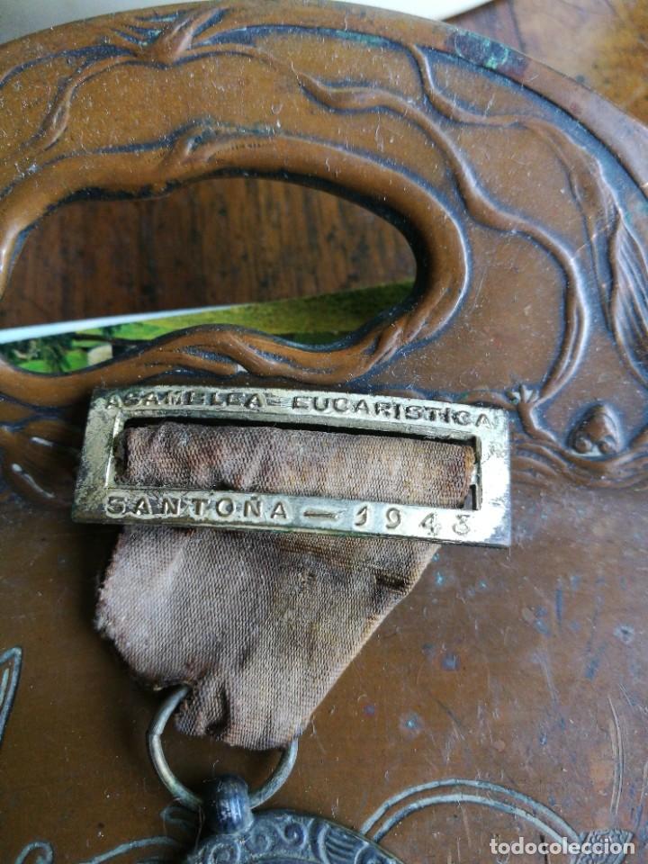 Militaria: Medalla Asamblea Eucarística Santoña 1943 - Foto 2 - 276188348