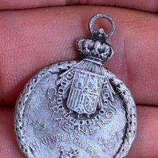 Militaria: MEDALLA. CARABINEROS. EN SU 1º CENTENARIO. NUESTRA SEÑORA DE COVADONGA. 1829 – 1929.. Lote 276263433