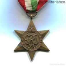Militaria: REINO UNIDO. THE ITALY STAR. MEDALLA DE LA SEGUNDA GUERRA MUNDIAL.. Lote 276271418