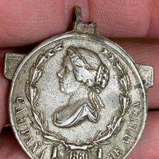 Militaria: MEDALLA CAMPAÑA DE ÁFRICA 1860. ISABEL II. Lote 276377203
