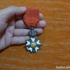 Militaria: ANTIGUA MEDALLA DE ORO Y PLATA, ORDEN LEGION DE HONOR FRANCESA, ORIGINAL, NAPOLEON. FRANCIA.. Lote 276479558