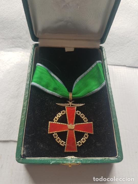 RARA MEDALLA RIO MUNI 1966 AL HIJO ADOPTIVO MICOMESENG ESMALTE Y CAJA (Militar - Medallas Españolas Originales )