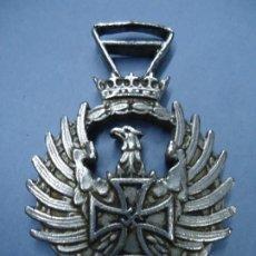 Militaria: MEDALLA CONMEMORATIVA RUSIA 1941 DIVISION AZUL ALEMANIA NAZI TERCER REICH MIDE 5,5 DE ALTO POR 3,6 C. Lote 276927448