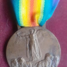 Militaria: ITALIA. MEDALLA DE LA GRANDE GUERRA PER LA CIVILTÁ. 1918. PRIMERA GUERRA MUNDIAL. Lote 277154018
