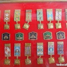 Militaria: CUADRO DE MEDALLAS RUSAS COLECCION DE 16 MEDALLAS Y 5 PINS ( & ). Lote 277186828